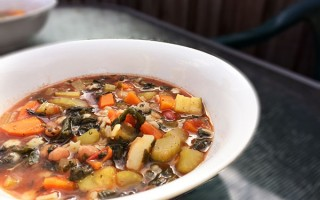 Mel's Easy Minestrone Soup Recipe
