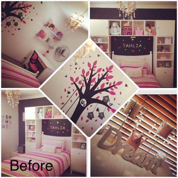 girl bedroom makeover before