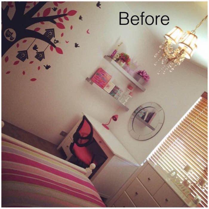 girl bedroom makeover before 2