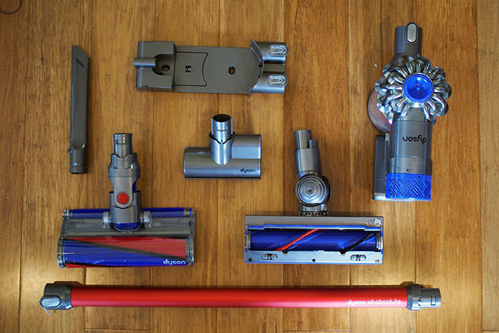 Dyson v6 absolute attachments