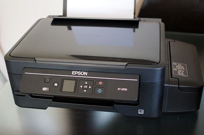 Our shiny new Epson EcoTank ET-2550