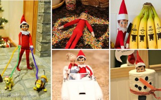 Fun Elf on the shelf ideas (with pictures)