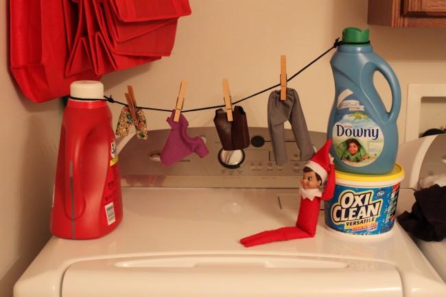 Laundry elf.