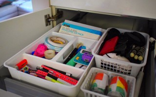 Tips for organising the junk drawer (with before & after photos)