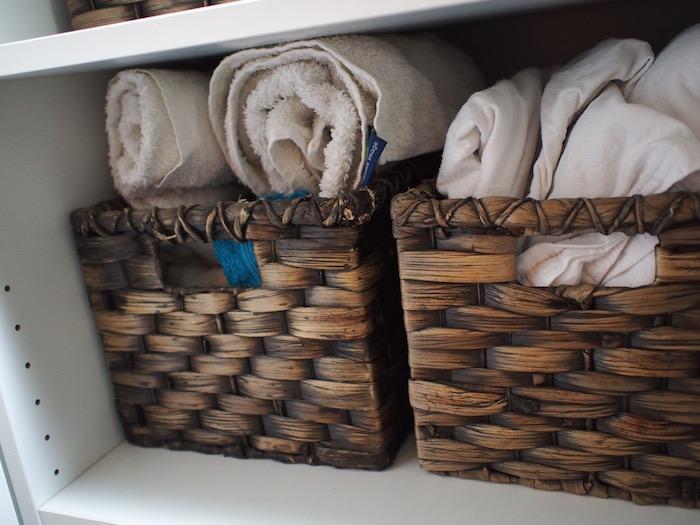roll don't fold towels