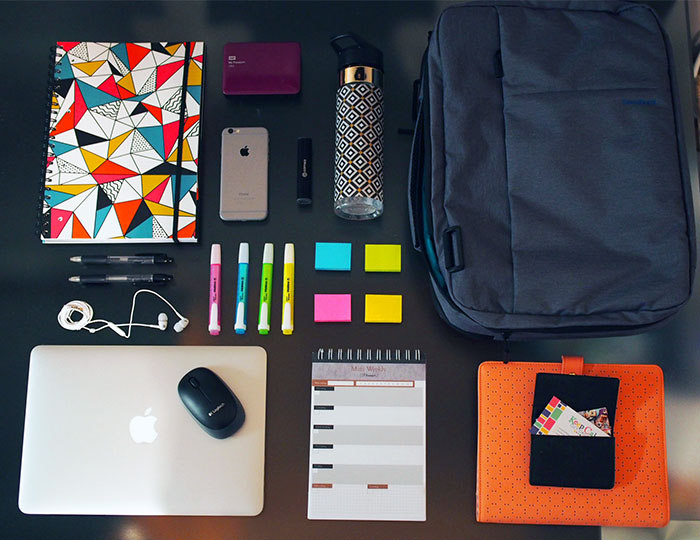 How to Create a Portable Office | Keep Calm Get Organised