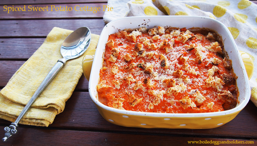 two easy healthy budget friendly meals with sweet potato mince