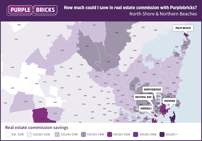 North Shore & Northern Beaches Average Savings