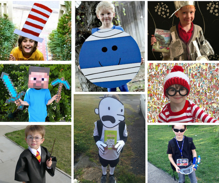 Easy Book Week Costumes For Boys