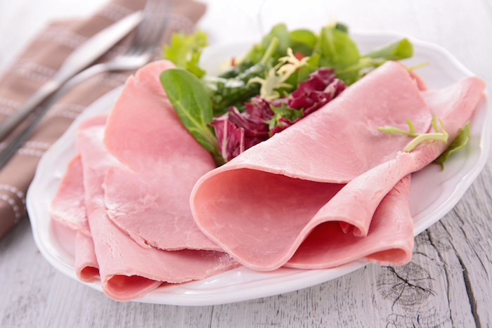 how to freeze sliced ham