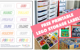 Free Printable Lego Labels
