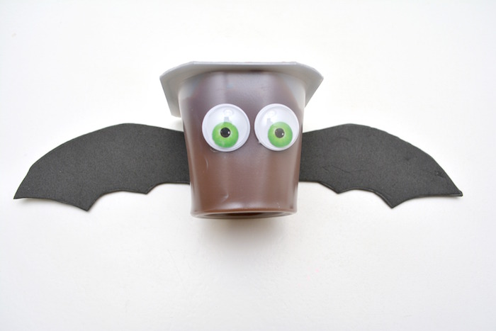halloween snack ideas pudding bats