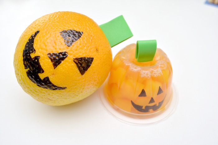 Halloween Snacks oranges