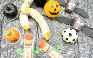 Quick & Easy Halloween Lunchbox Ideas