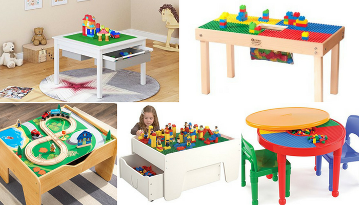 Lego Tables With Storage