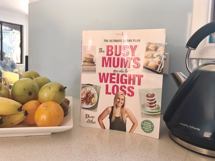 Healthy Mummy Book review busy mums guide to weight loss